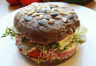 Tendances restauration rapide Burger cru Yogifood