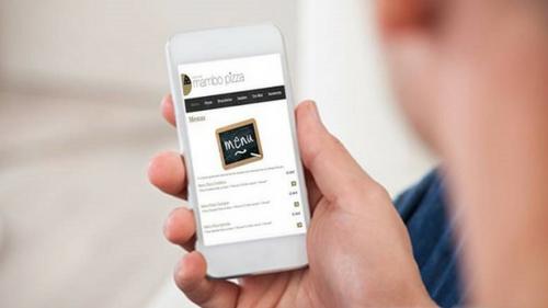 Tendances restauration rapide Commande en ligne sur mobile