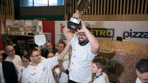 Tendances restauration rapide Yoan Garcin champion de France de la Pizza 2017