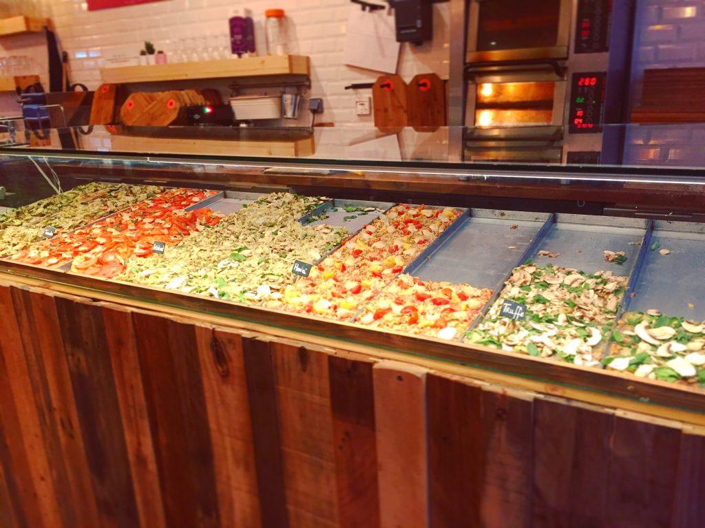 Caisse enregistreuse tactile pizzeria