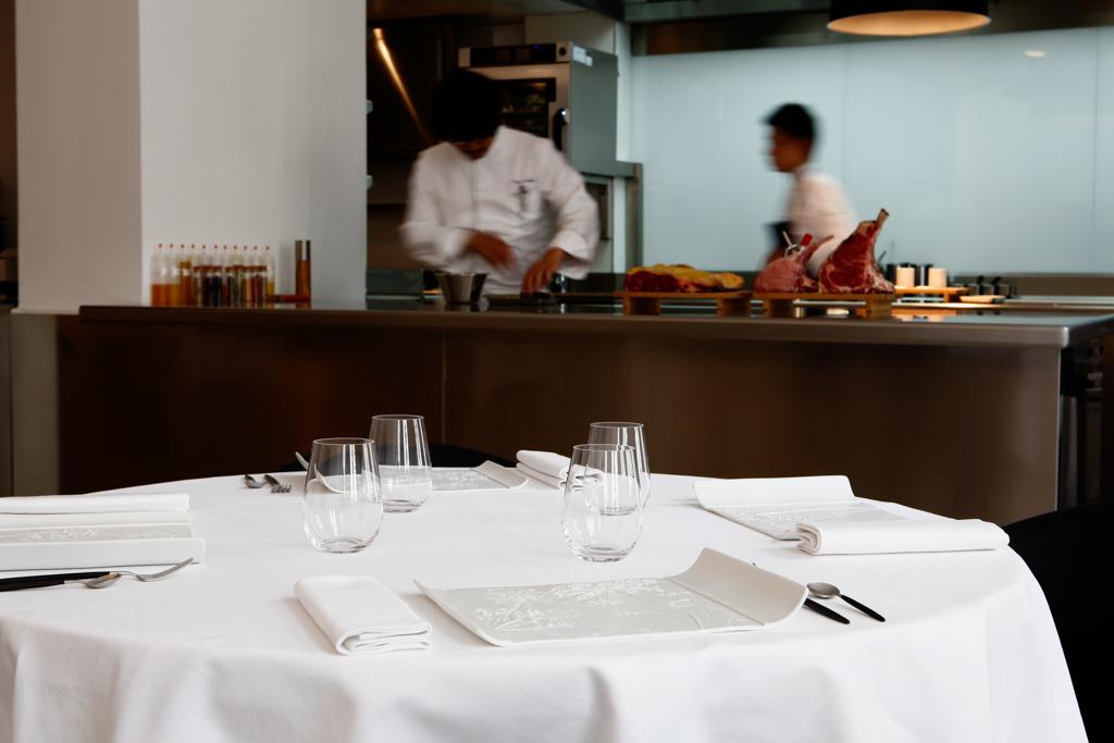 Caisse enregistreuse restaurant gastronomique